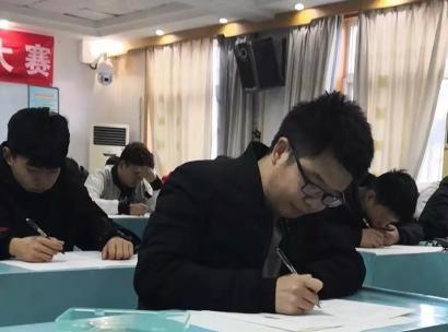 """济源四中青年教师参加模拟""""高考"""""""